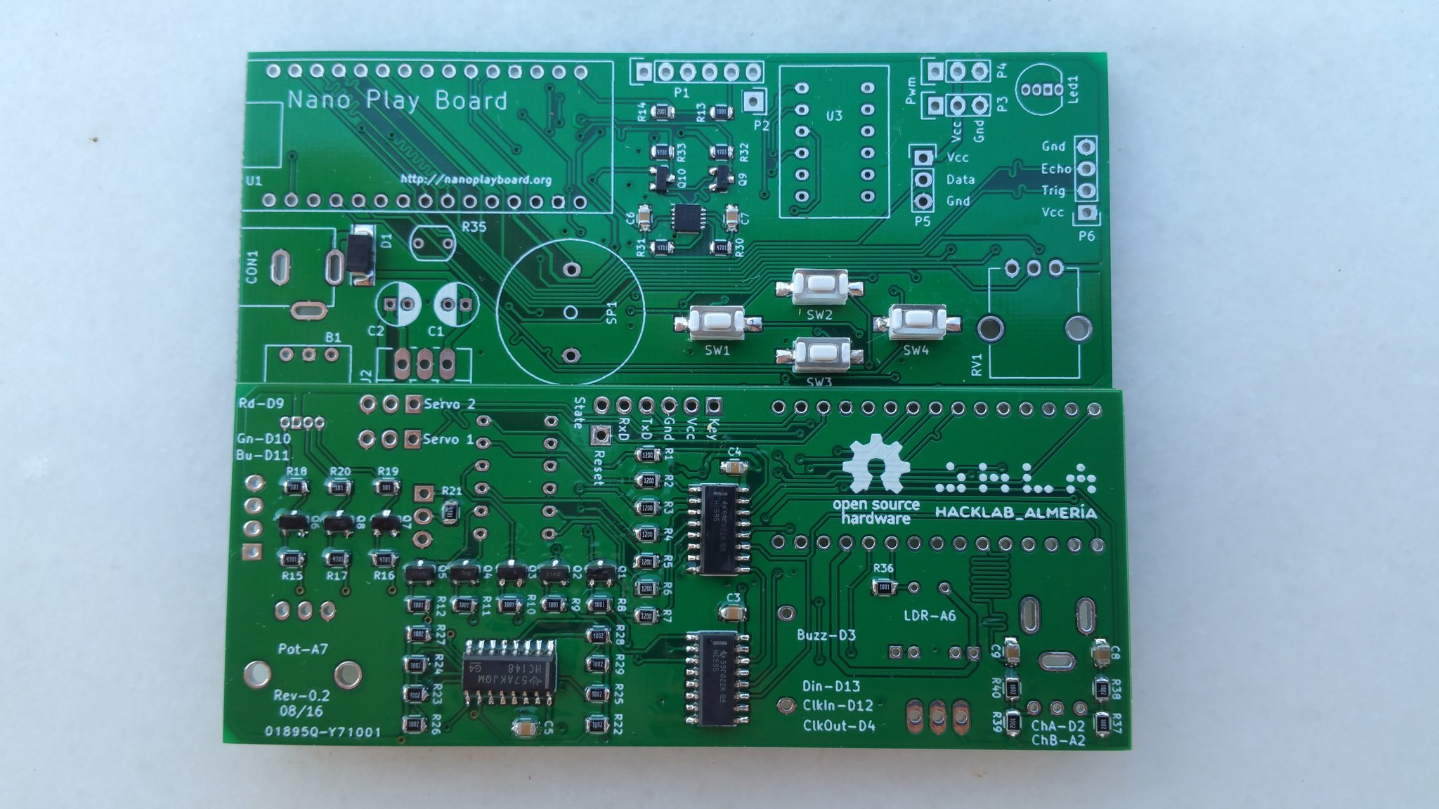 placa NanoPlayBoard