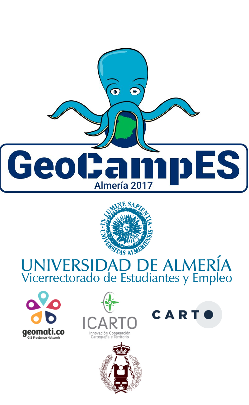 cartel GeoCampES 2017