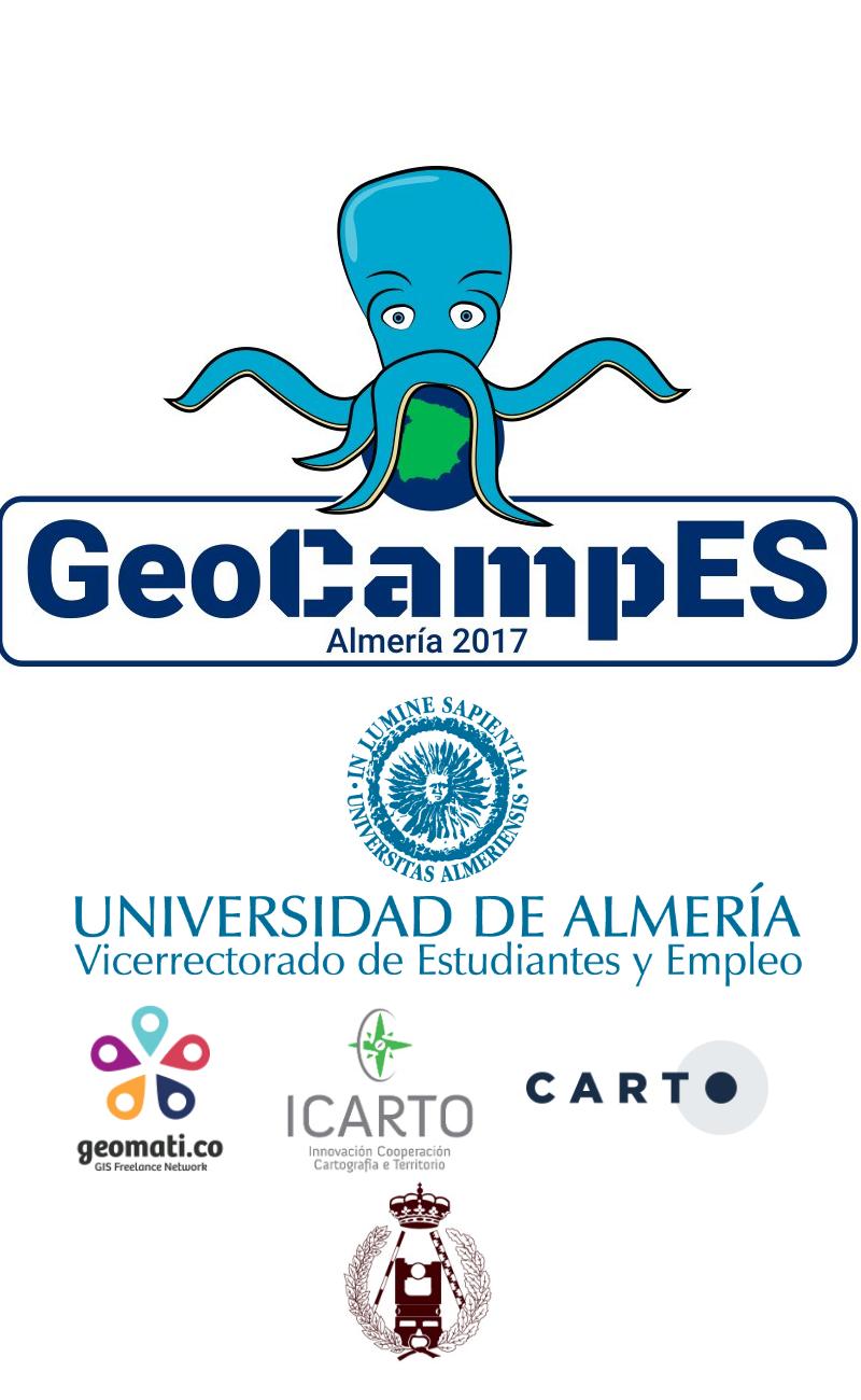 cartel GeoCampES 2017