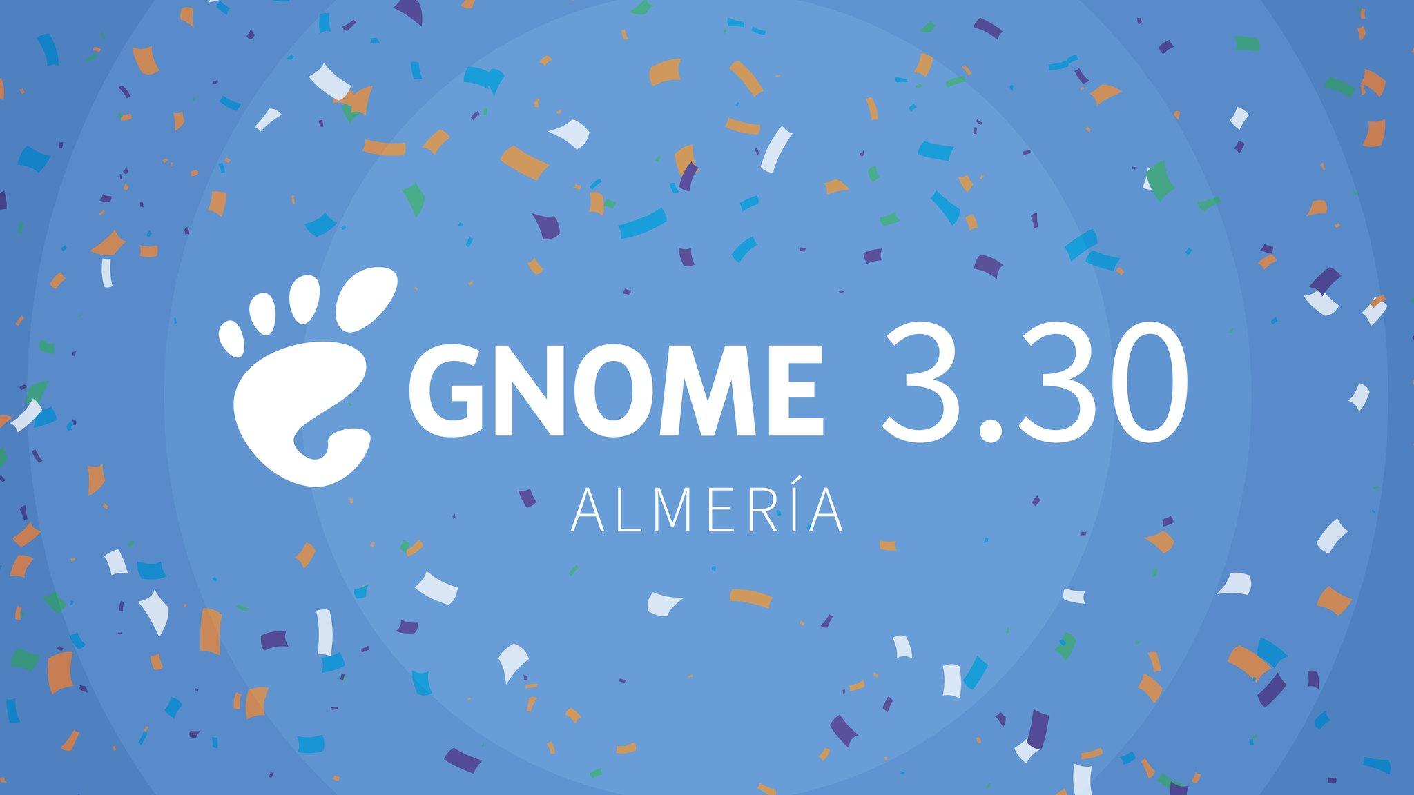 GNOME 3.30
